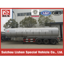 Insulated tank trailer for bitumen